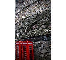 Calling Edinburgh Castle Photographic Print