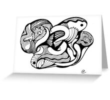 Abstract Moments 15 Greeting Card