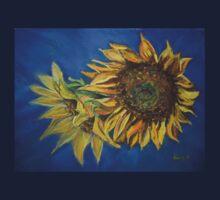 Sunflower Study (pastel) Kids Clothes