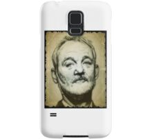 Bill Murray drawing Samsung Galaxy Case/Skin