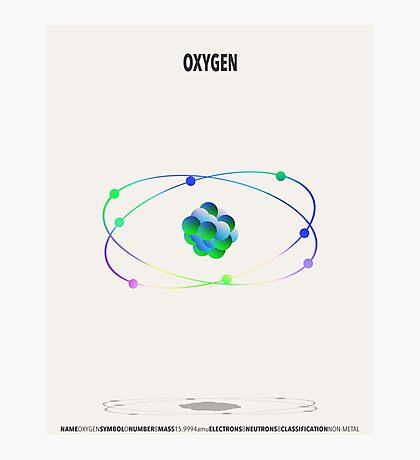 Oxygen - Element Art Photographic Print