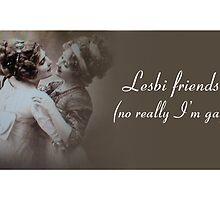 Lesbi Friends by HardlyQuinn