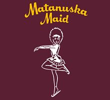 Matanuska Maid ~ Yellow and White Unisex T-Shirt