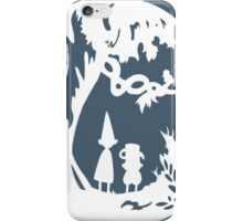 Over the Garden Wall (white) iPhone Case/Skin