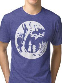 Over the Garden Wall (white) Tri-blend T-Shirt