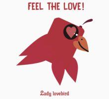 Feel The Love Of Lady Lovebird One Piece - Long Sleeve