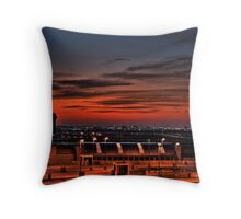 Texan Sunrise Throw Pillow