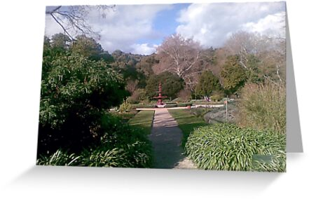 Fountain in the Adelaide Botanic Gardens by Shelleymay