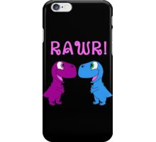 Dinosaur Love iPhone Case/Skin