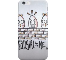 Fangirl iPhone Case/Skin