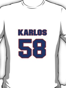 National football player Karlos Dansby jersey 58 T-Shirt