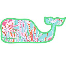 Lilly Pulitzer Whale Jellies Be Jammin Photographic Print