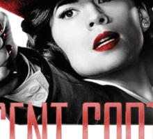 Agent Carter - Red Sticker