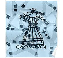 Blue Elegance - Plate No.#II Poster