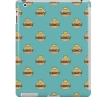 King Burger Pattern iPad Case/Skin