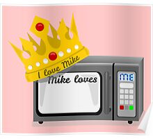 Microwave love Poster