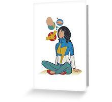 Kamala Greeting Card