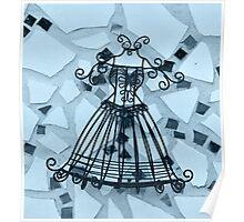 Blue Elegance - Plate No.# IV Poster