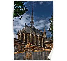 Steep steeple Poster