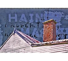Hot Tin Roof Photographic Print