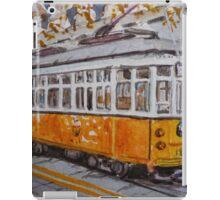 San Francisco Orange Streetcar iPad Case/Skin