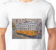 San Francisco Orange Streetcar Unisex T-Shirt