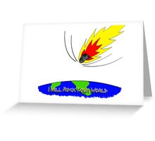 I Will Rock Your World Greeting Card