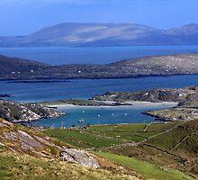Derrynane Bay County Kerry Ireland by aidan  moran