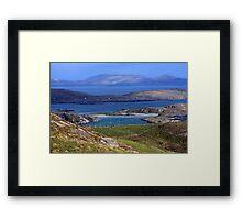 Derrynane Bay County Kerry Ireland Framed Print