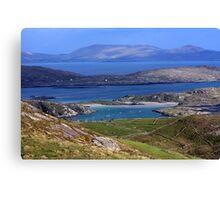 Derrynane Bay County Kerry Ireland Canvas Print
