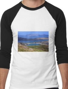 Derrynane Bay County Kerry Ireland Men's Baseball ¾ T-Shirt