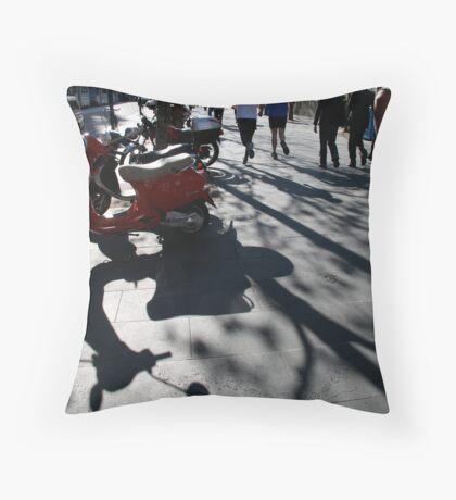 modes of locomotion Throw Pillow