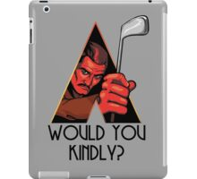 A Kindly Clockwork iPad Case/Skin