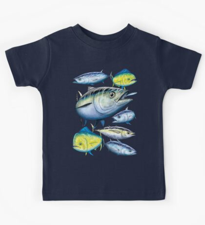 Tuna and Mahi Mahi Kids Tee