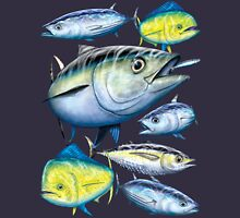 Tuna and Mahi Mahi Unisex T-Shirt