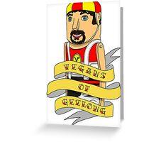 Vegans of Geelong Greeting Card
