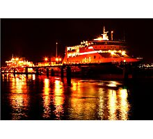 Cargo Ships Photographic Print