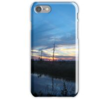 Blue Sky Smilin' at Me (OK so it was sundown) iPhone Case/Skin