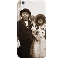 Vintage Children's Art-Available As Art Prints-Mugs,Cases,Duvets,T Shirts,Stickers,etc iPhone Case/Skin