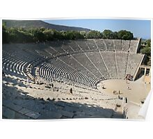 The Theatre at Epidavros Poster