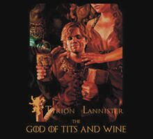 Game of thrones Tyrion Lannister Wine God by sadanand