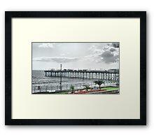 Teignmouth Pier Framed Print