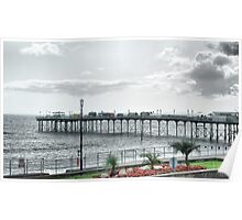 Teignmouth Pier Poster