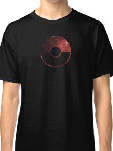 Galaxy Pokeball - ver Red Classic T-Shirt