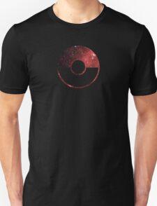 Galaxy Pokeball - ver Red Unisex T-Shirt