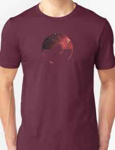 Galaxy Pokeball - ver Red Unisex T-Shirt