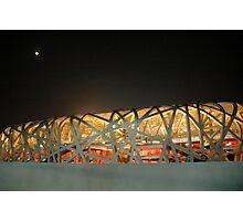 Bird's Nest Stadium Photographic Print