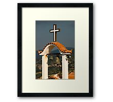 It pays to advertise. Framed Print