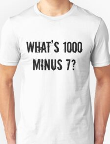 What's 1000 Minus 7? [Tokyo Ghoul][Style One] T-Shirt
