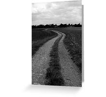 Empty path Greeting Card